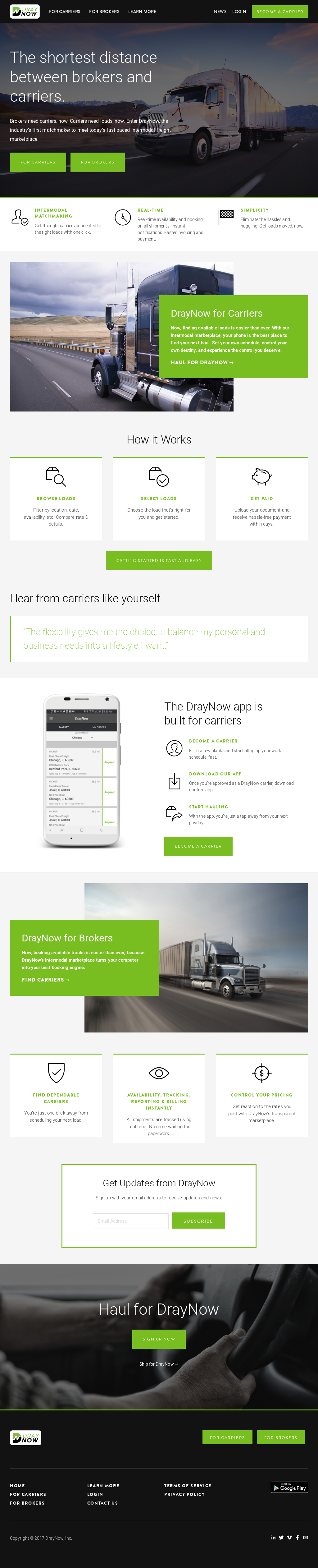 DrayNow Competitors, Revenue and Employees - Owler Company