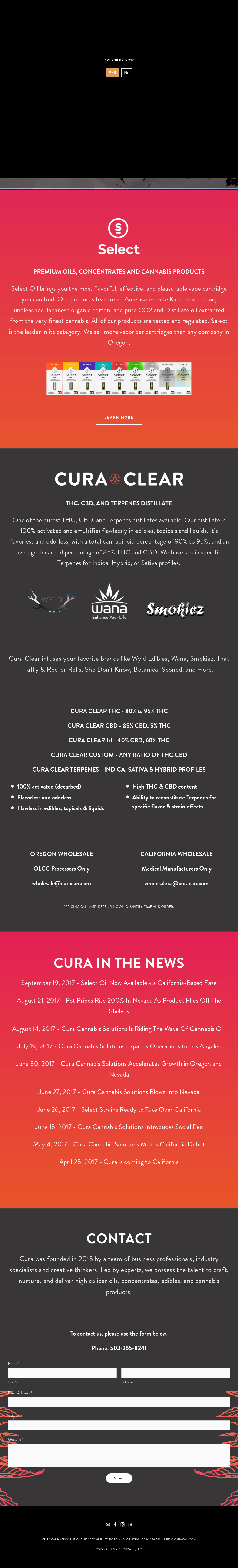 Cura Cannabis Competitors, Revenue and Employees - Owler
