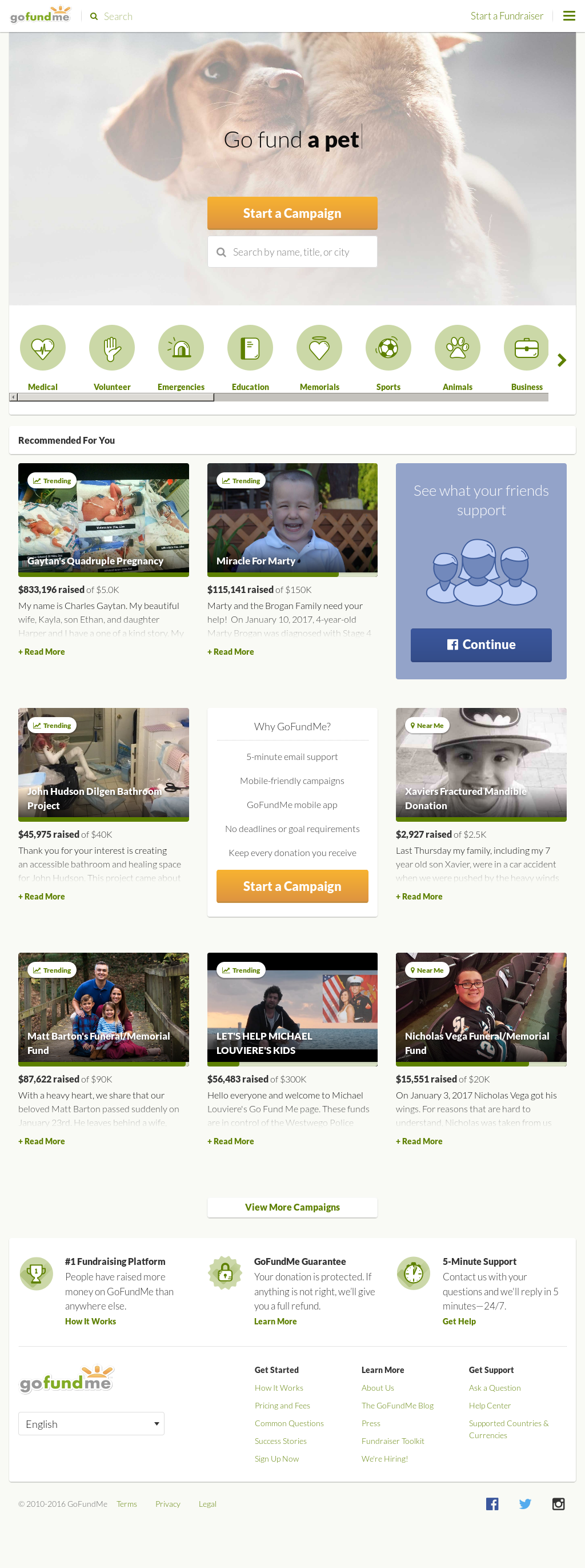 GoFundMe Competitors, Revenue and Employees - Owler Company