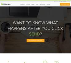 Yesware website history