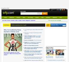 Sify website history