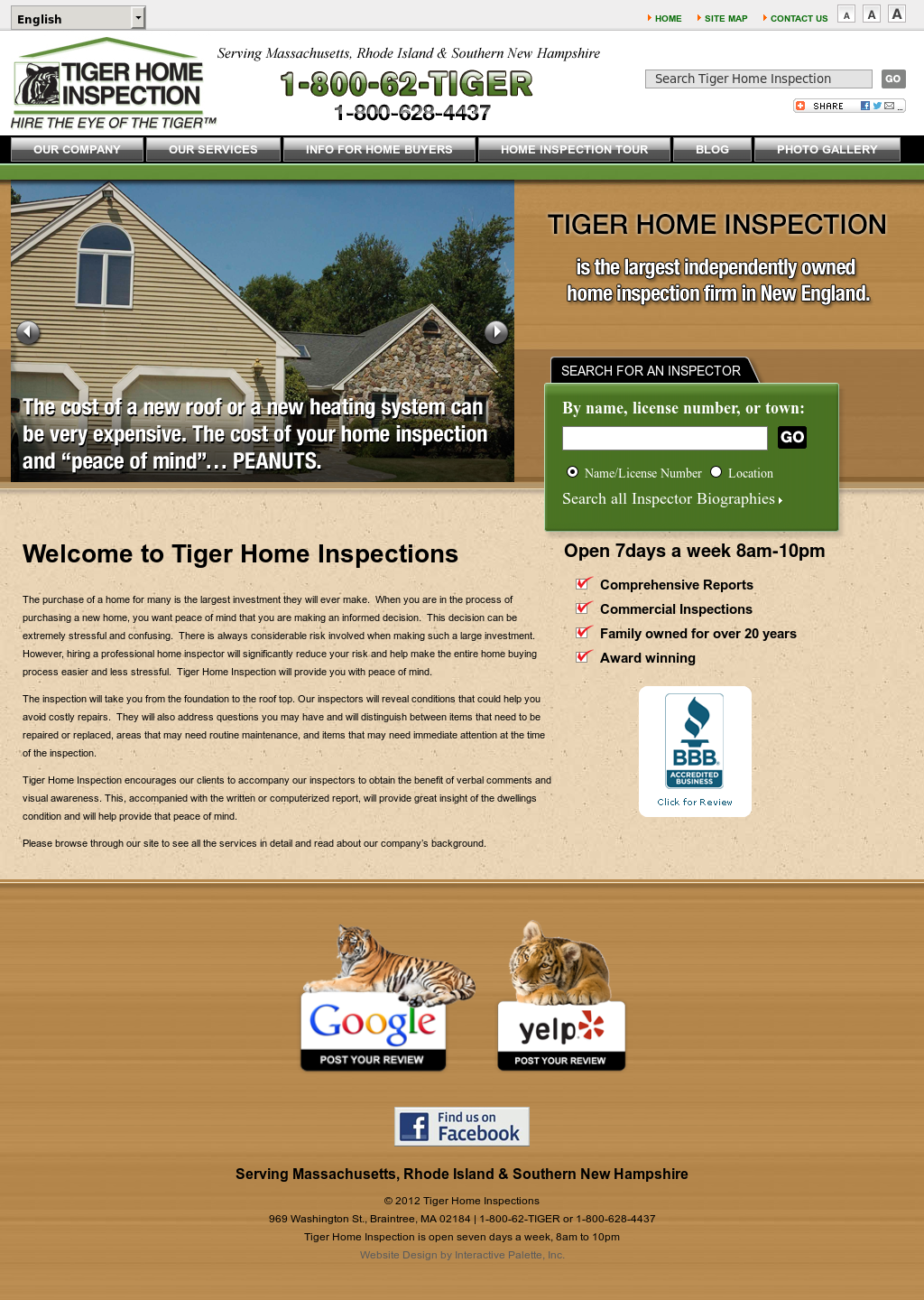 Tiger Home Inspection Competitors Revenue And Employees Owler