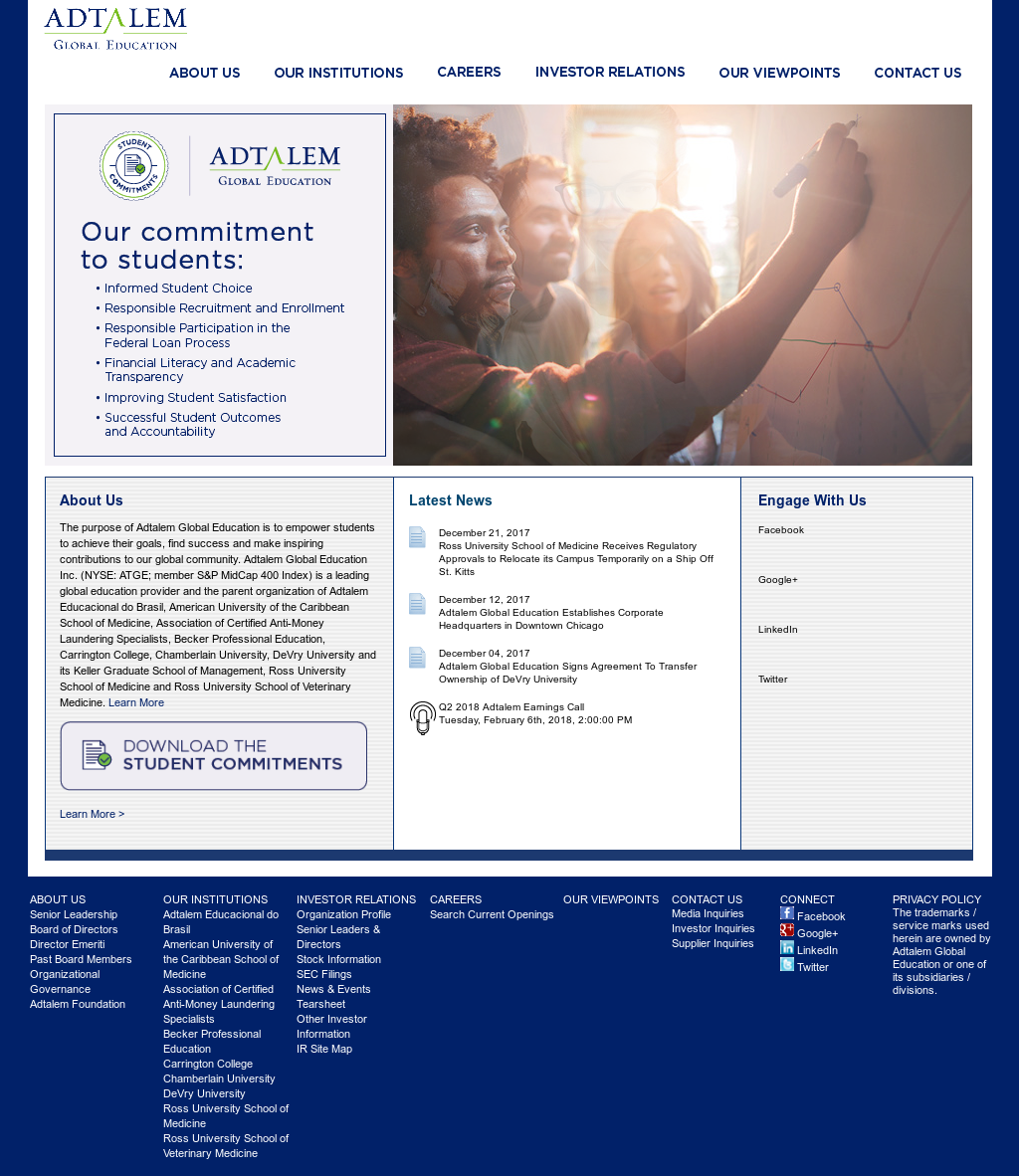 Adtalem Global Education Competitors, Revenue and Employees