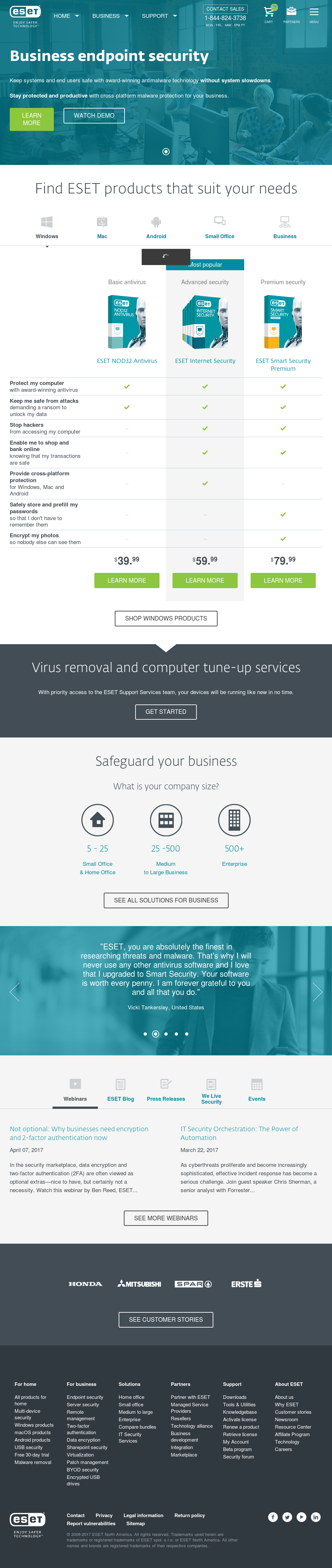 ESET Competitors, Revenue and Employees - Owler Company Profile