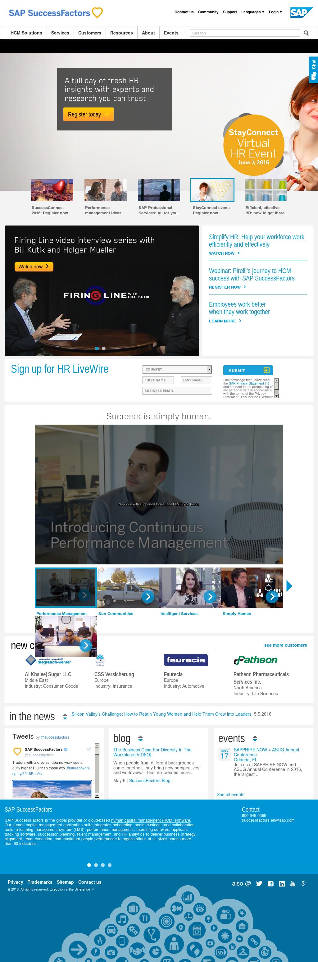 SAP SuccessFactors Competitors, Revenue and Employees - Owler