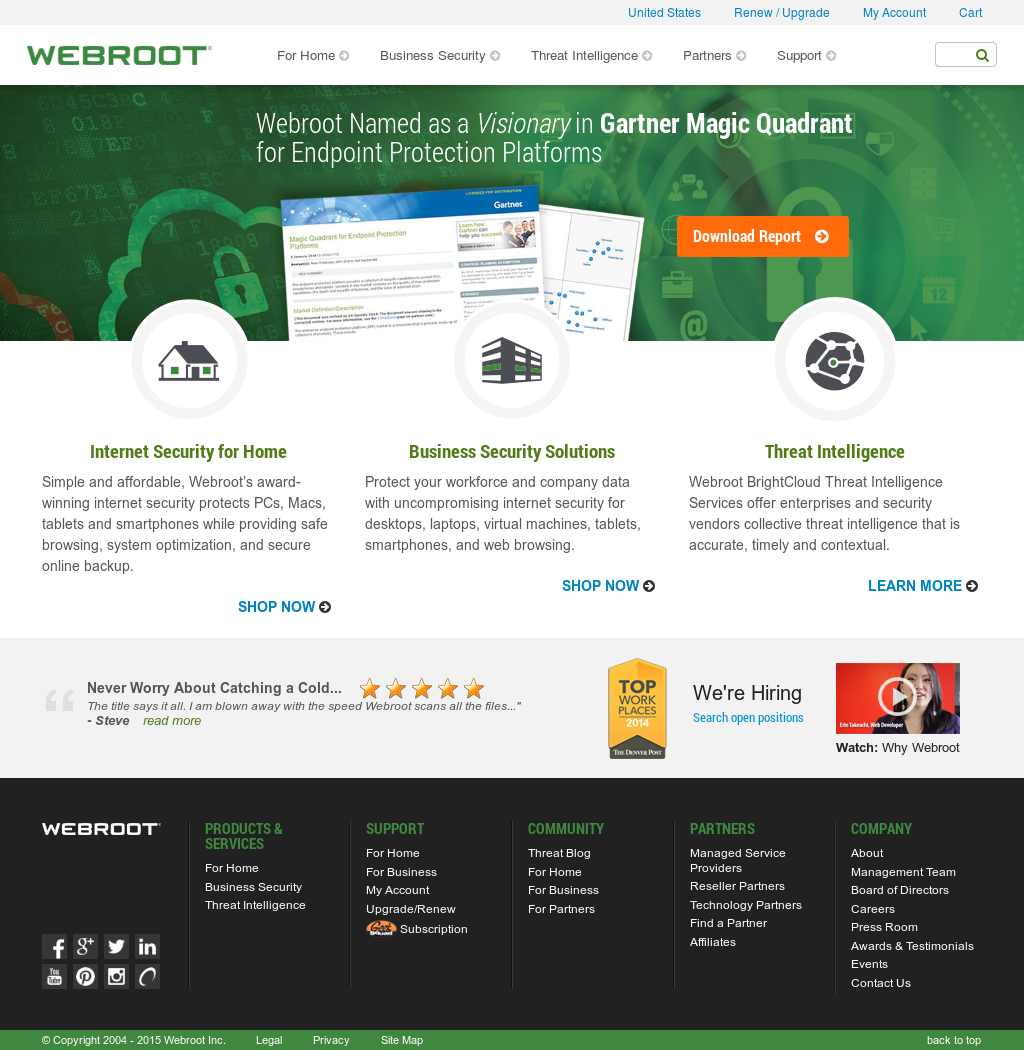 Webroot Competitors, Revenue and Employees - Owler Company Profile