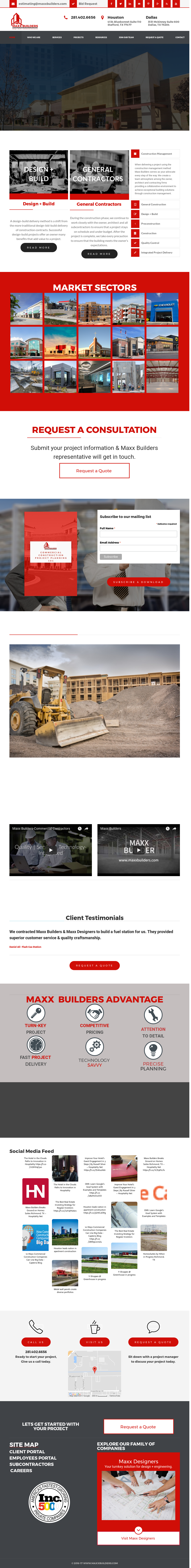 Maxx Builders Competitors, Revenue and Employees - Owler