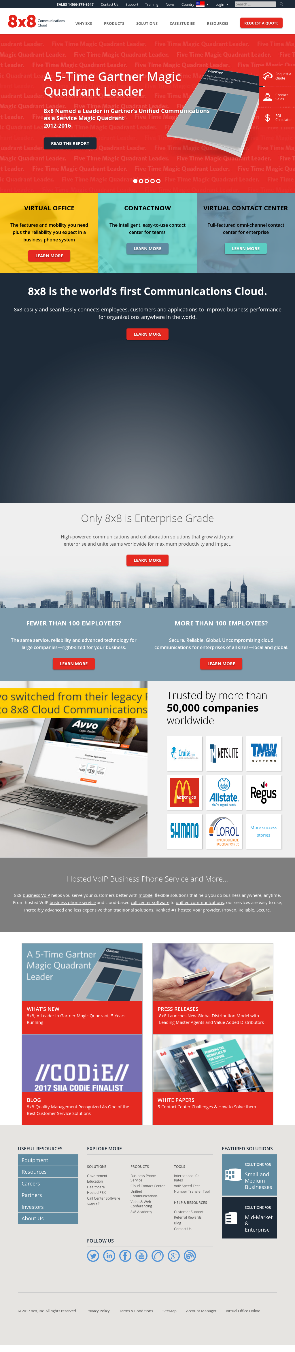 8x8 Competitors, Revenue and Employees - Owler Company Profile