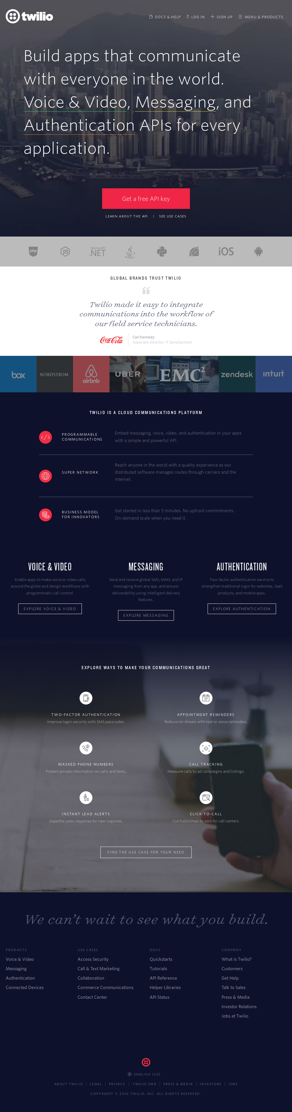 Twilio Competitors, Revenue and Employees - Owler Company Profile