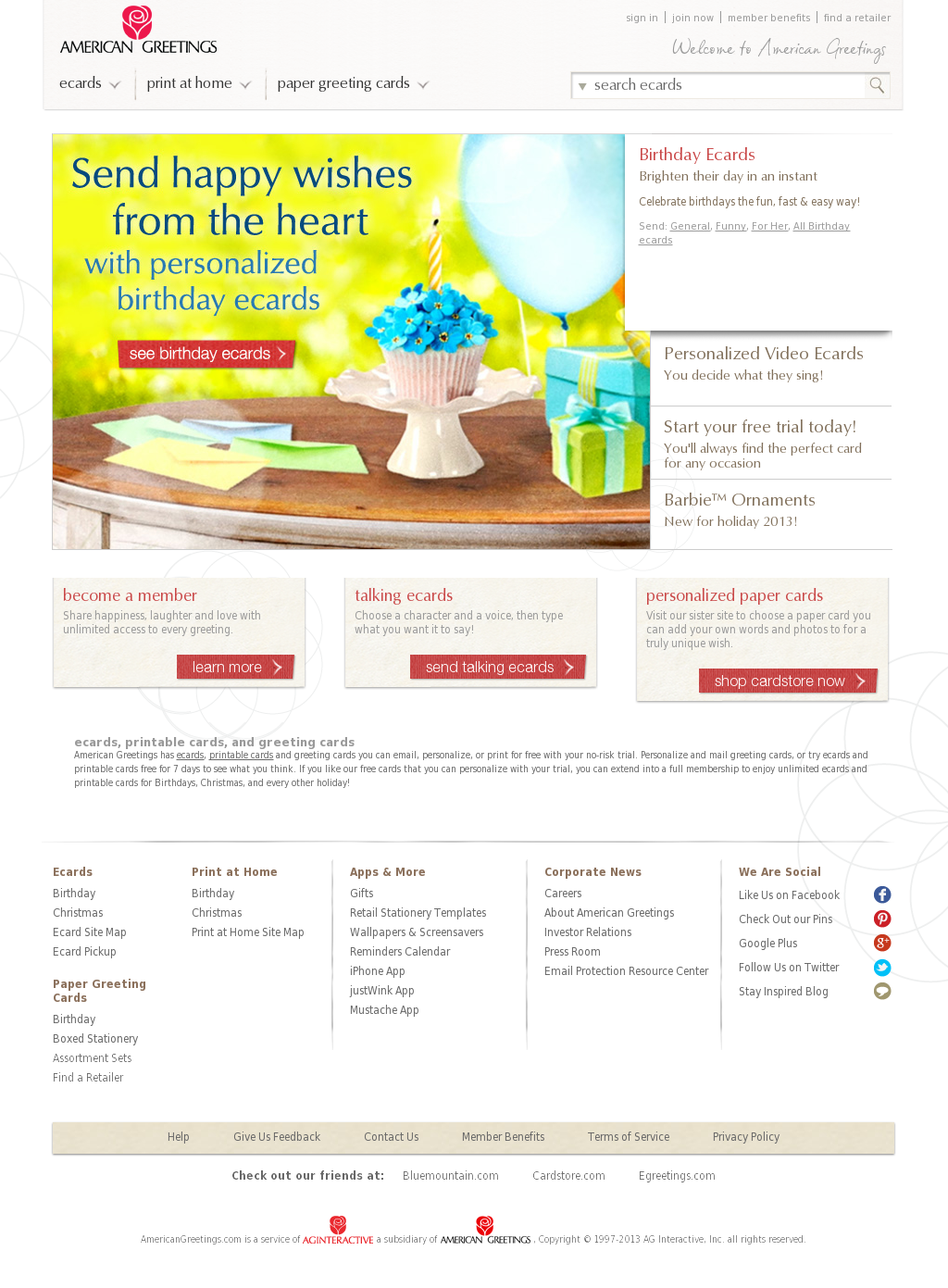 American greetings competitors revenue and employees owler american greetings website history kristyandbryce Choice Image