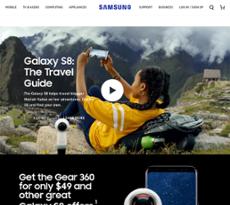 Samsung Electronics website history