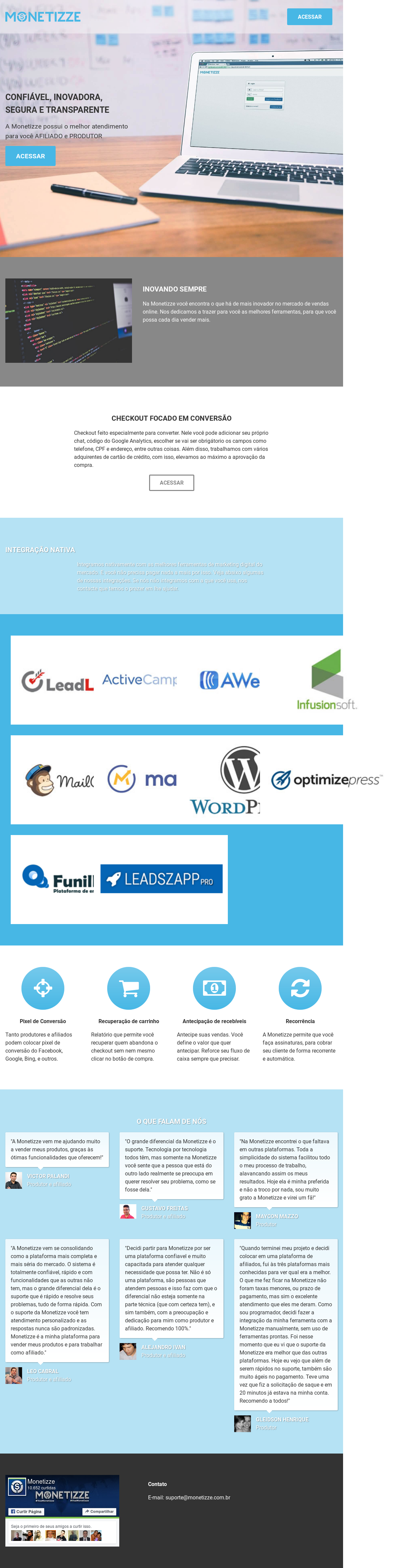 Monetizze Competitors, Revenue and Employees - Owler Company