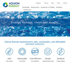 Aquion Energy Competitors, Revenue and Employees - Owler