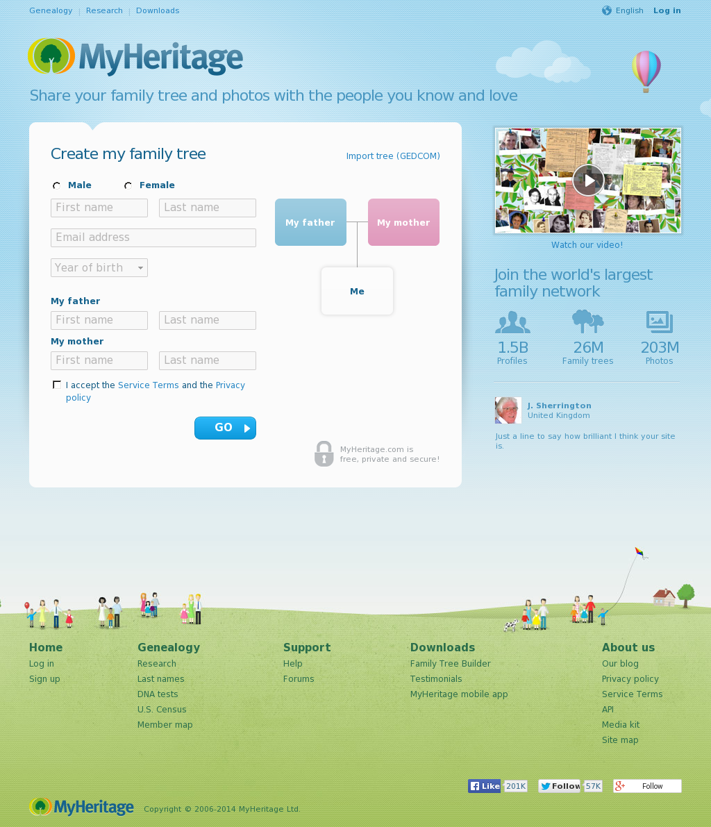 myheritage competitors revenue and employees owler company profile