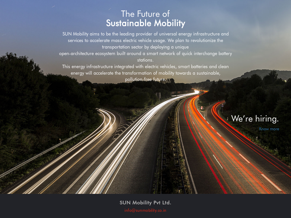 Owler Reports - Press Release: sunmobility : SUN Mobility