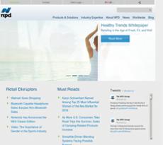 NPD website history