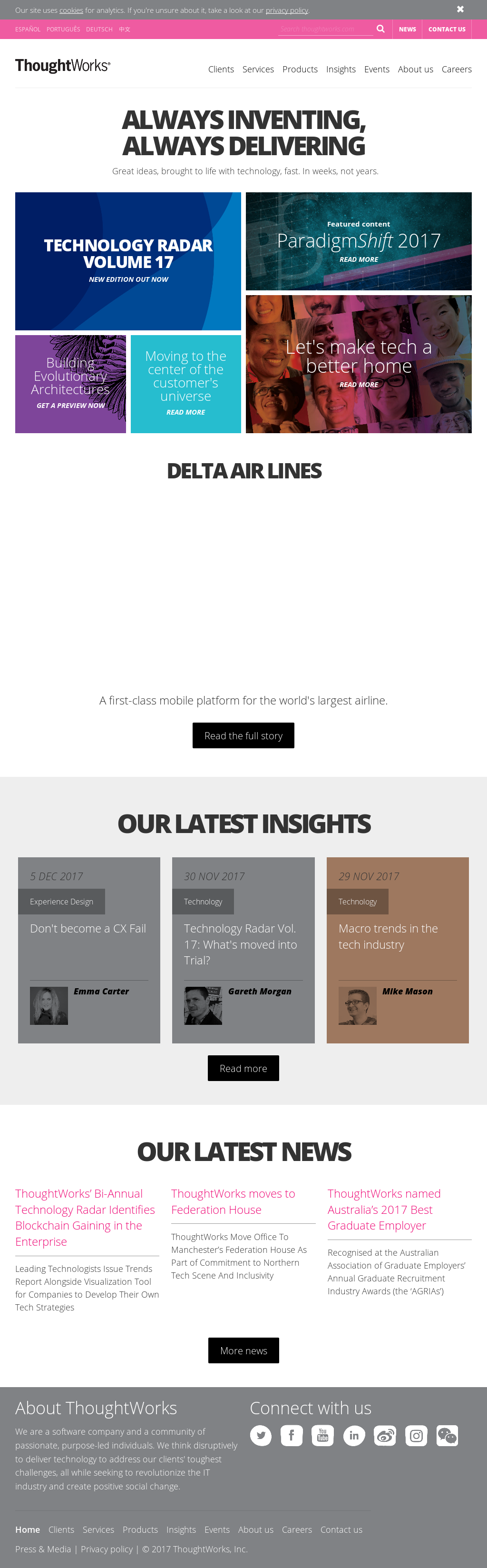 ThoughtWorks Competitors, Revenue and Employees - Owler