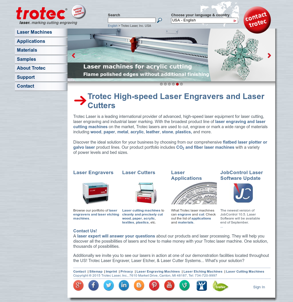 Trotec Laser Competitors, Revenue and Employees - Owler