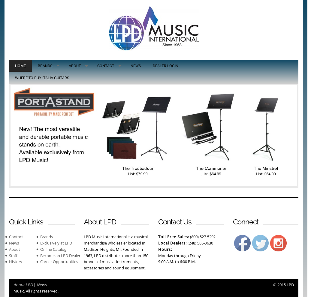 LPD Music International Competitors, Revenue and Employees