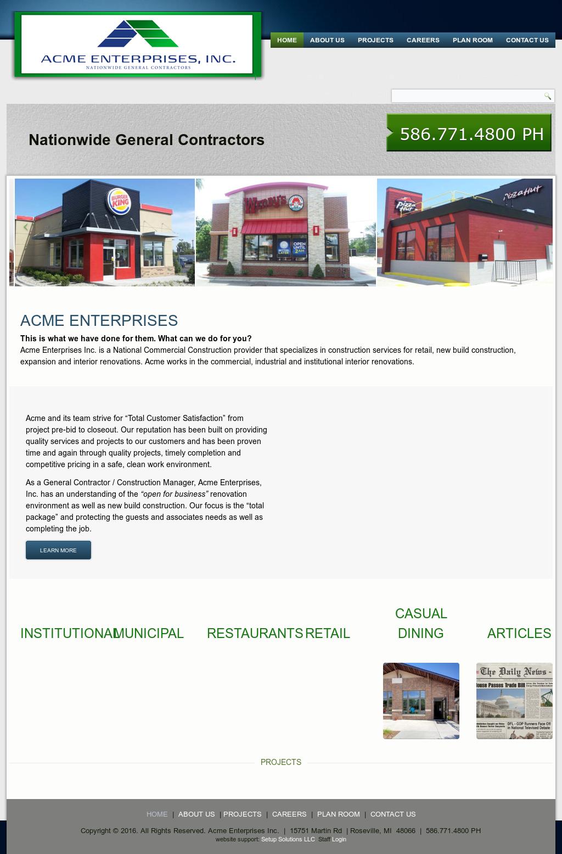 ACME Enterprises Competitors, Revenue and Employees - Owler