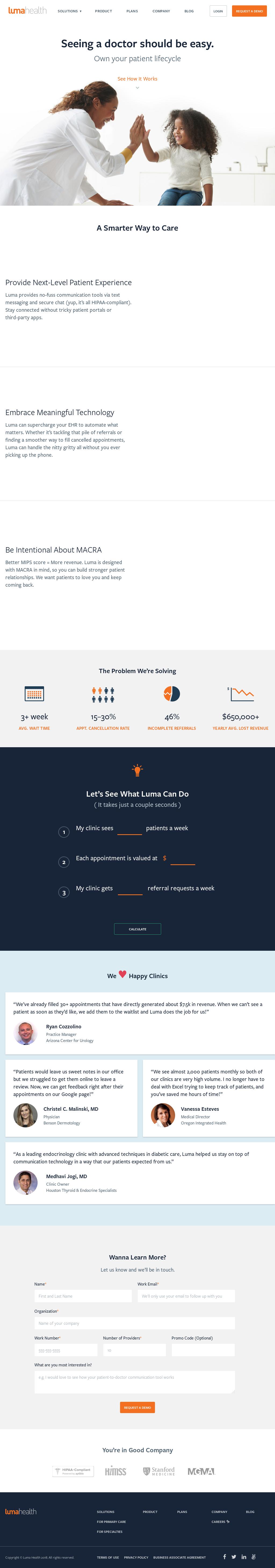 Luma Health Competitors, Revenue and Employees - Owler