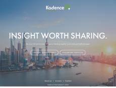 Kadence website history