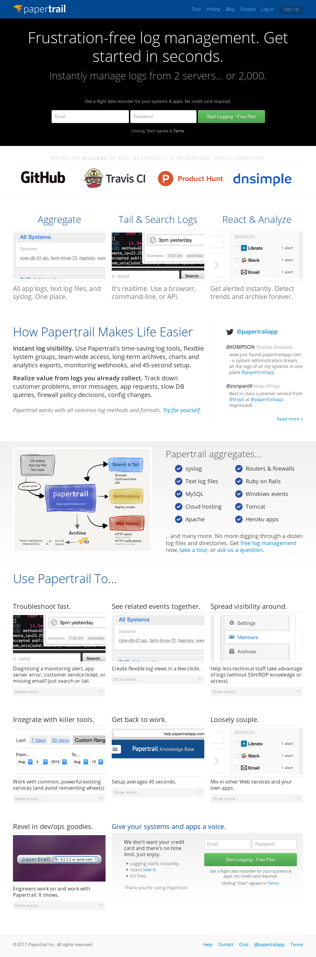 Owler Reports - Papertrail Blog Introduction To Logging In