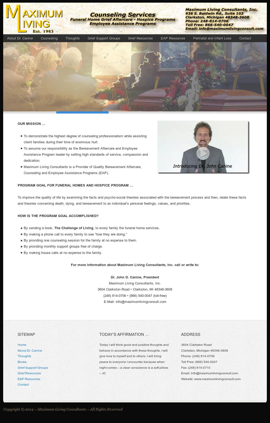 Maximum Living Consultants Competitors, Revenue and