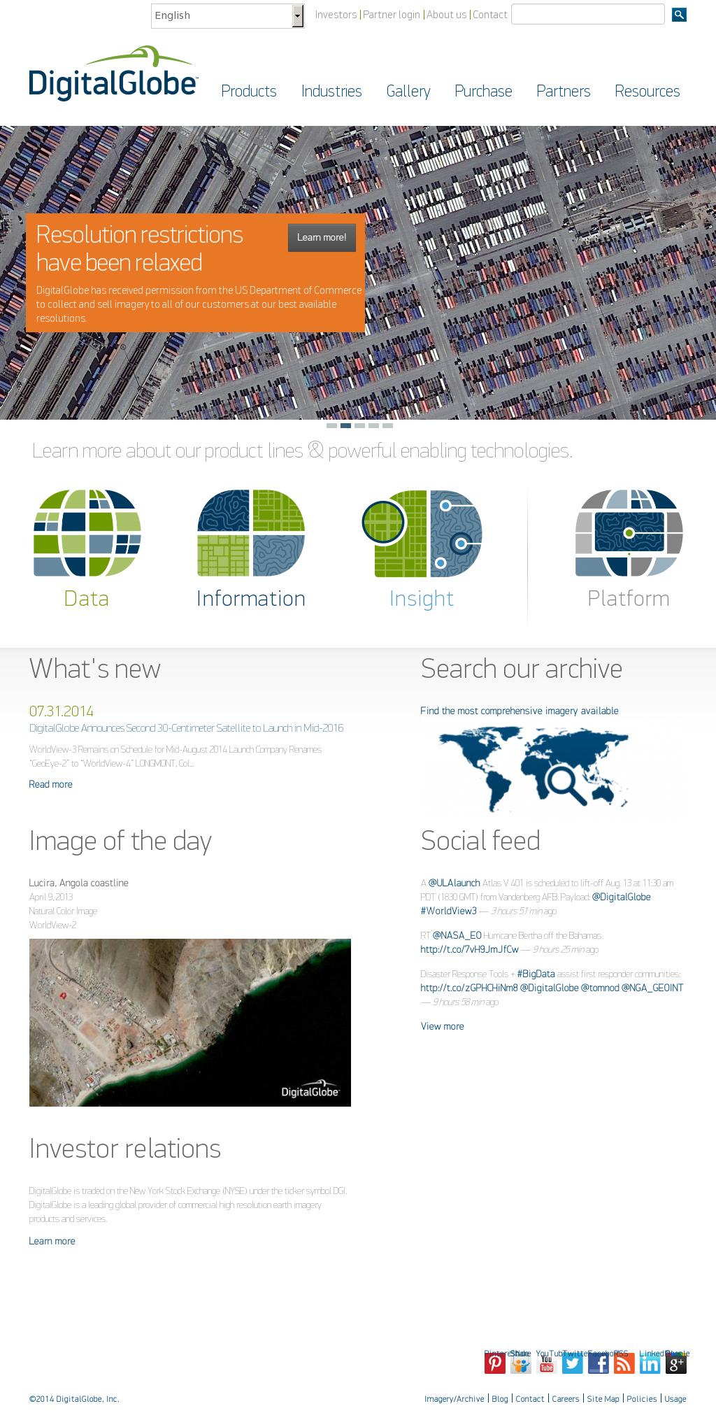 DigitalGlobe Competitors, Revenue and Employees - Owler Company Profile