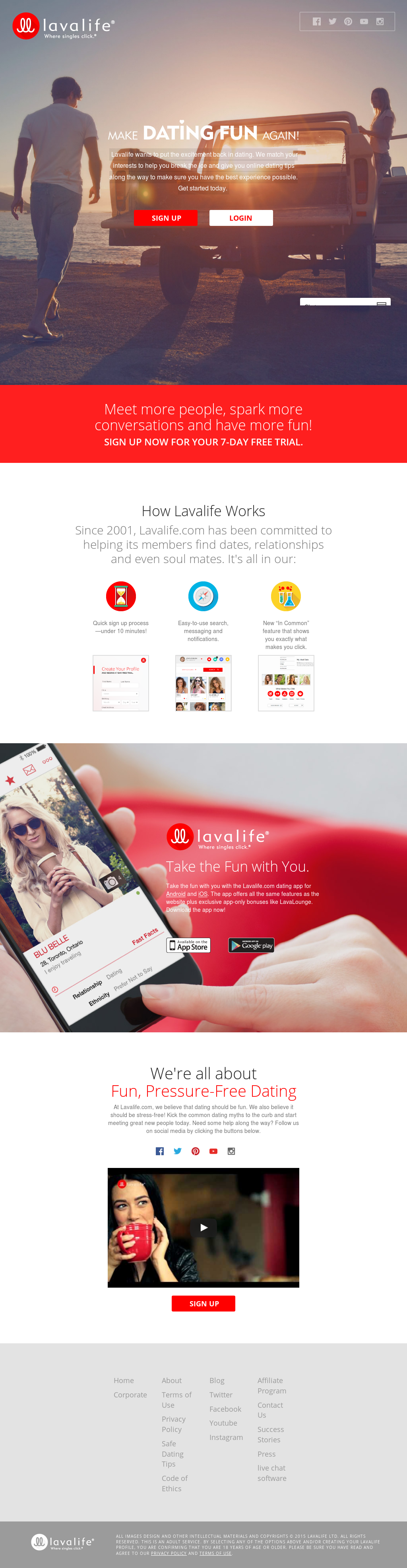 lavalife dating login dating fading out