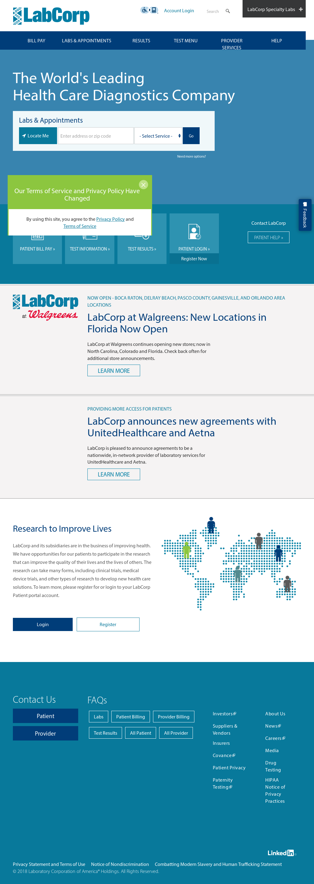 LabCorp Competitors, Revenue and Employees - Owler Company