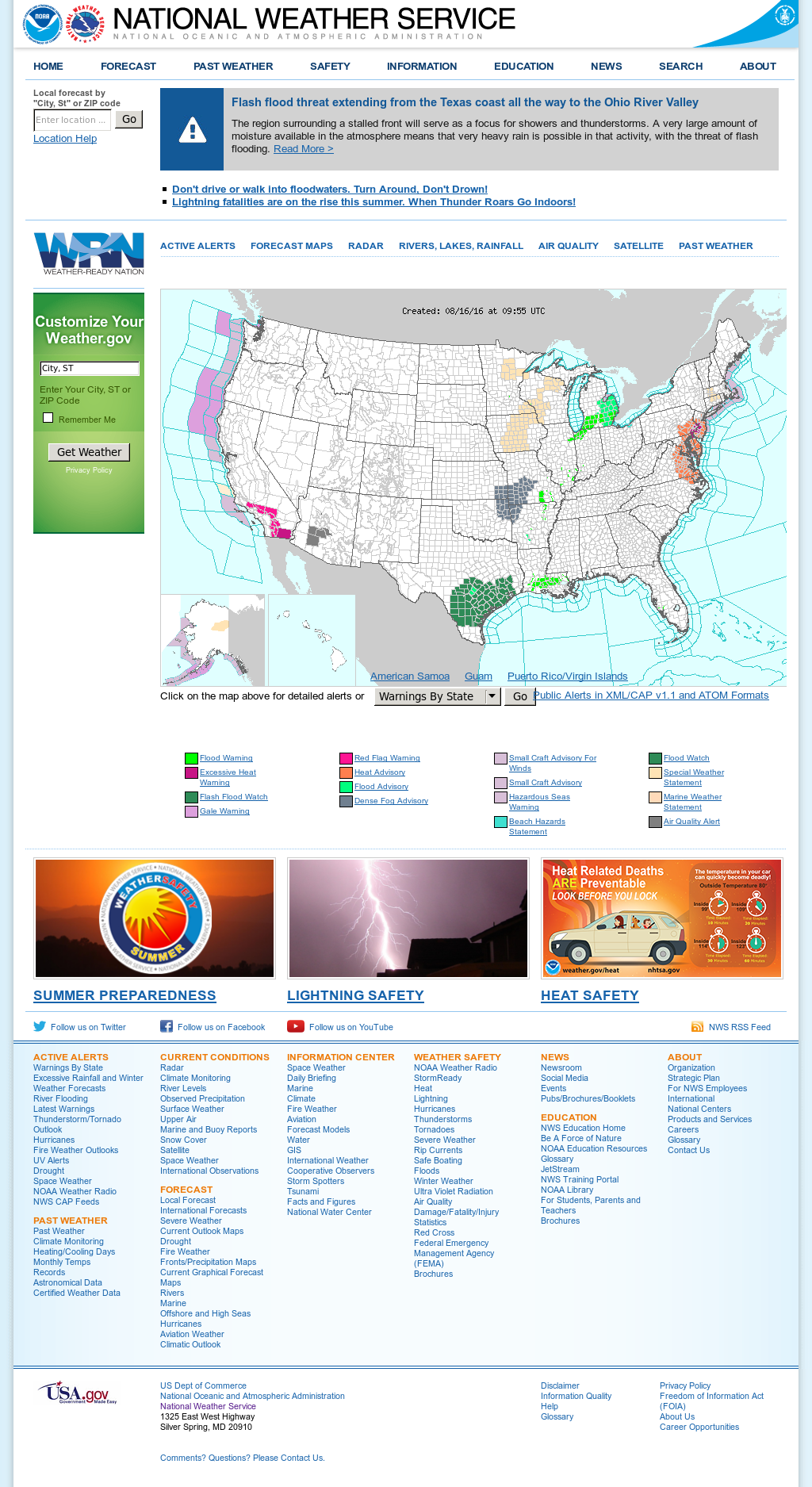 NOAA's Compeors, Revenue and Employees - Owler Company ... on noaa lake michigan weather map, noaa 2013 winter weather outlook, noaa weather by zip code, noaa national weather service forecast, severe weather forecast,
