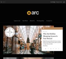 Arc Worldwide website history