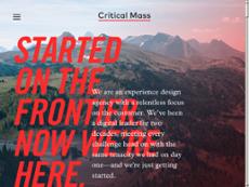 Critical Mass website history