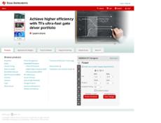 Texas Instruments website history