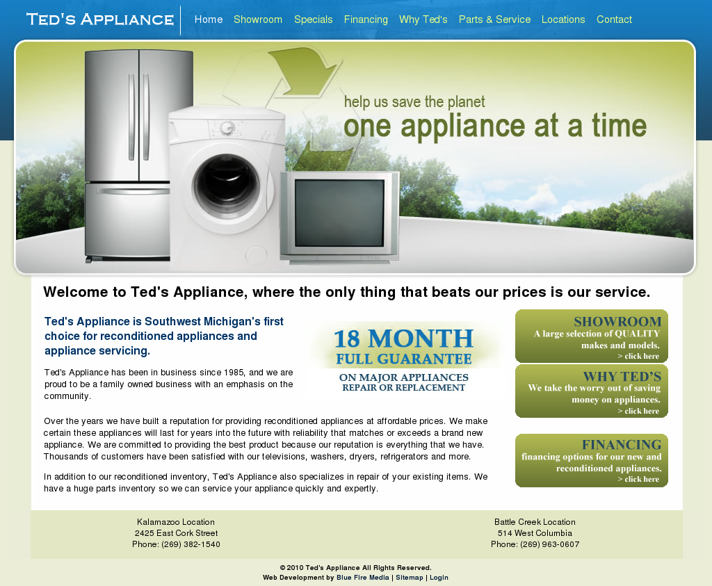 Ted S Liances Compeors Revenue And Employees Owler Company Profile
