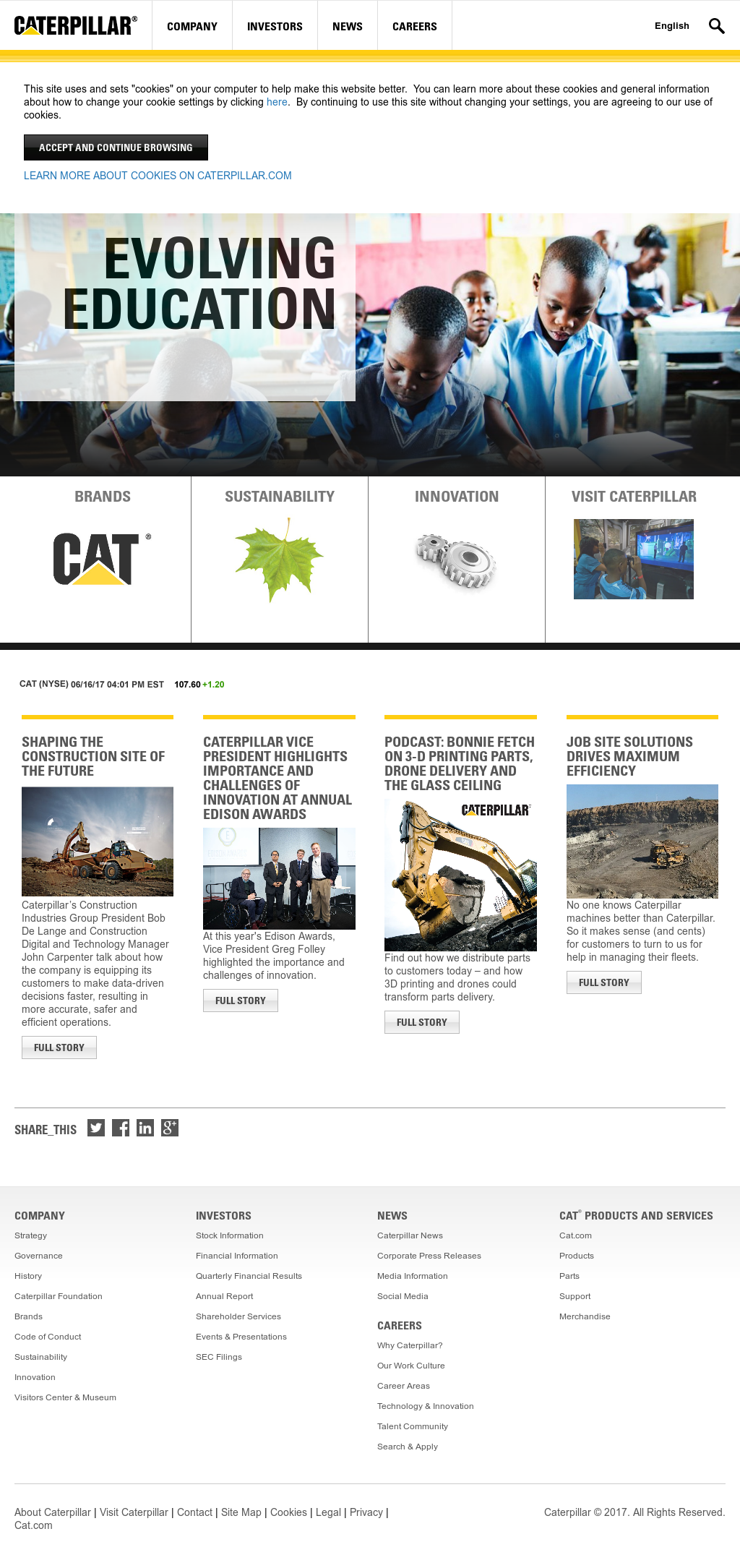 Caterpillar Competitors, Revenue and Employees - Owler