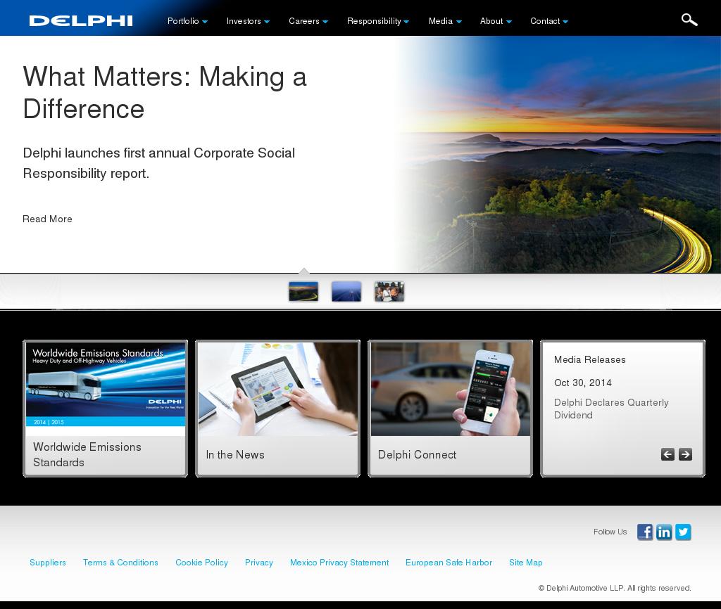 Delphi Competitors, Revenue and Employees - Owler Company Profile