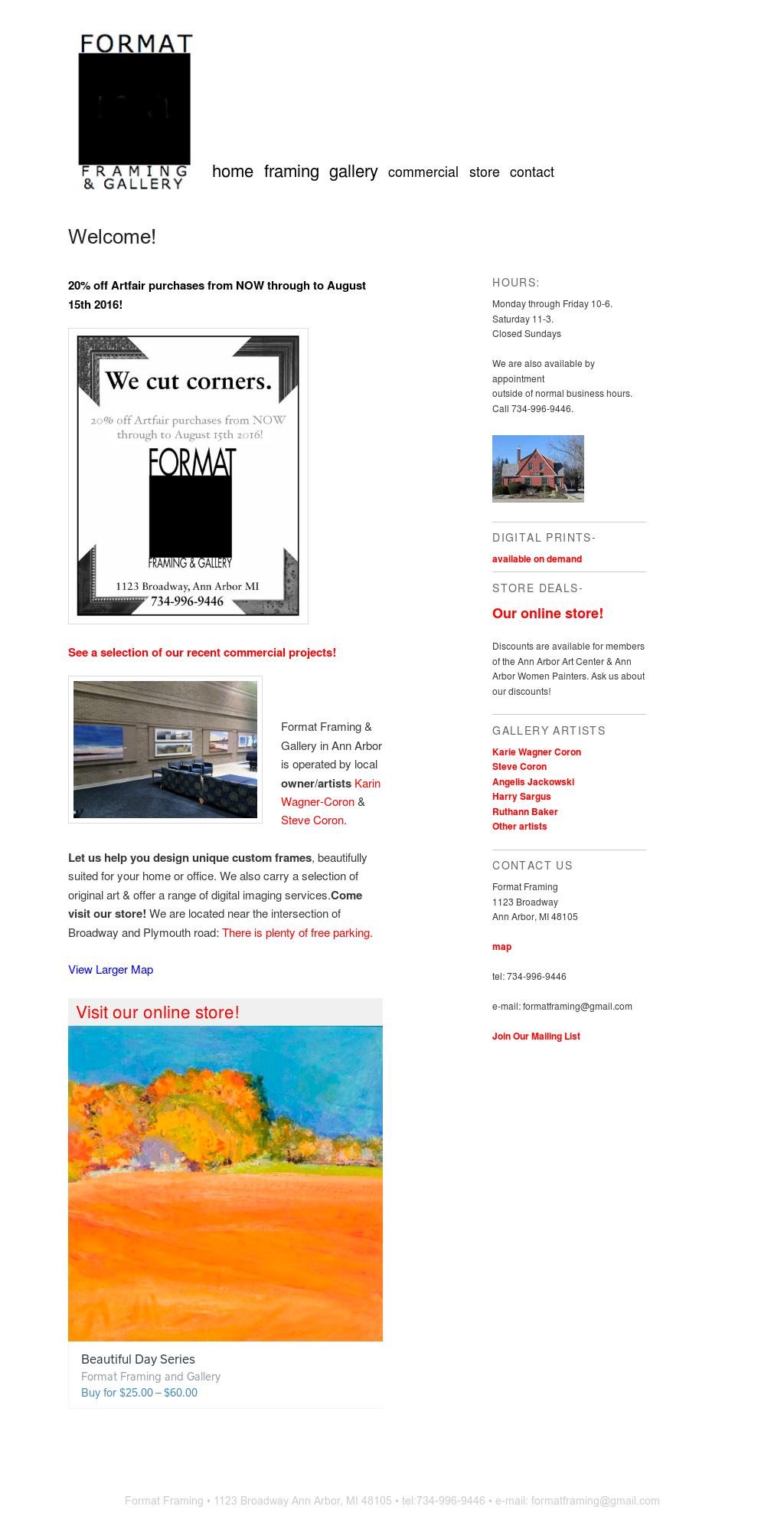 Gemütlich Framing Ann Arbor Zeitgenössisch - Benutzerdefinierte ...