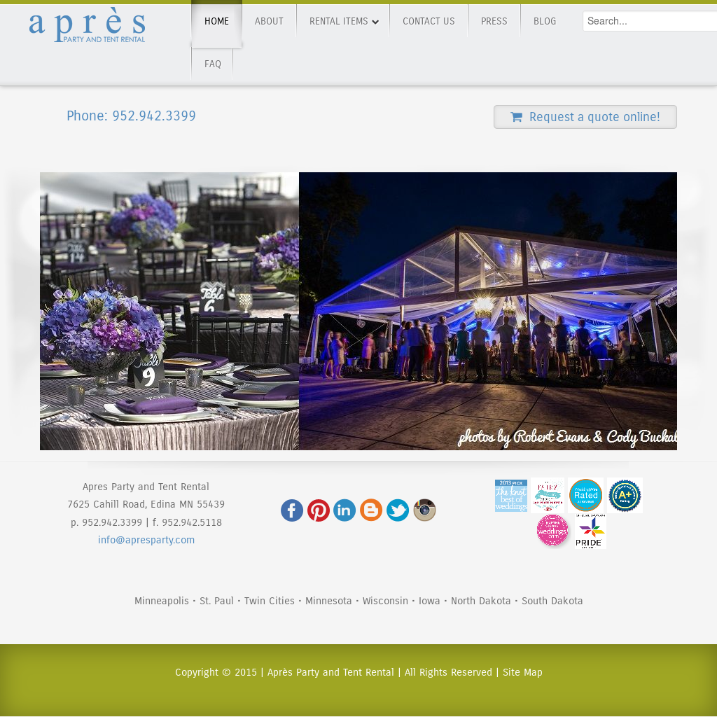 Apres Party & Tent Rentals Competitors, Revenue and Employees