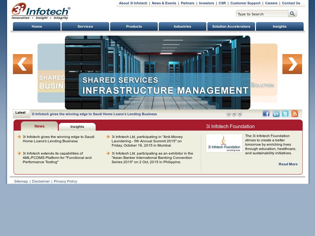 Owler Reports - Press Release: 3i Infotech : Malaysian FMCG