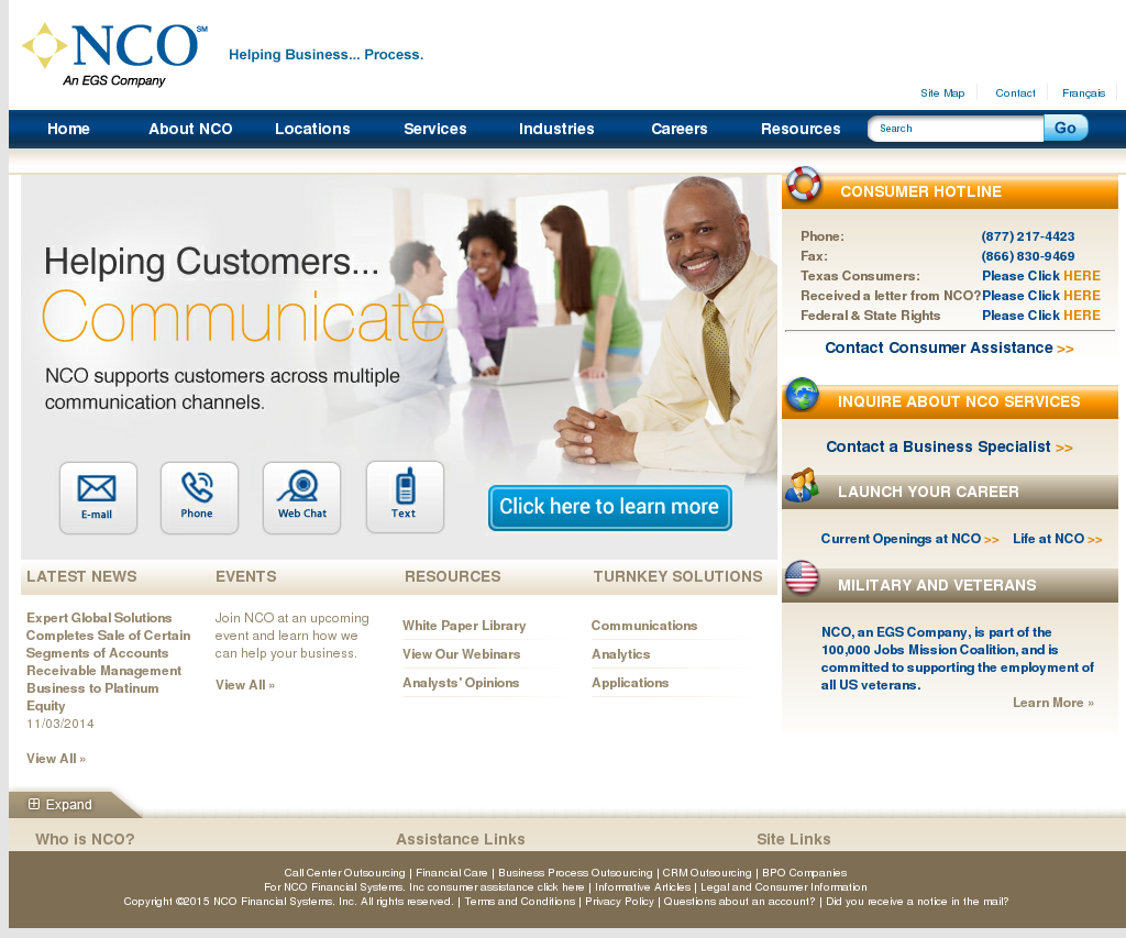 nco call center
