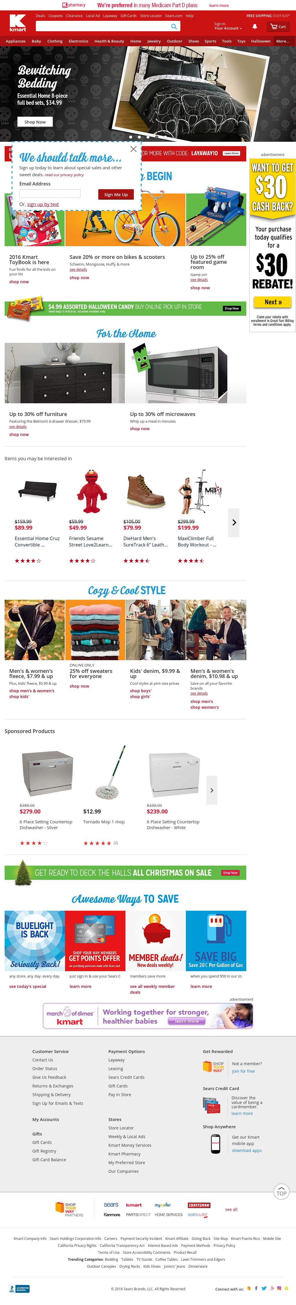 Kmart website : Find a jcpenney