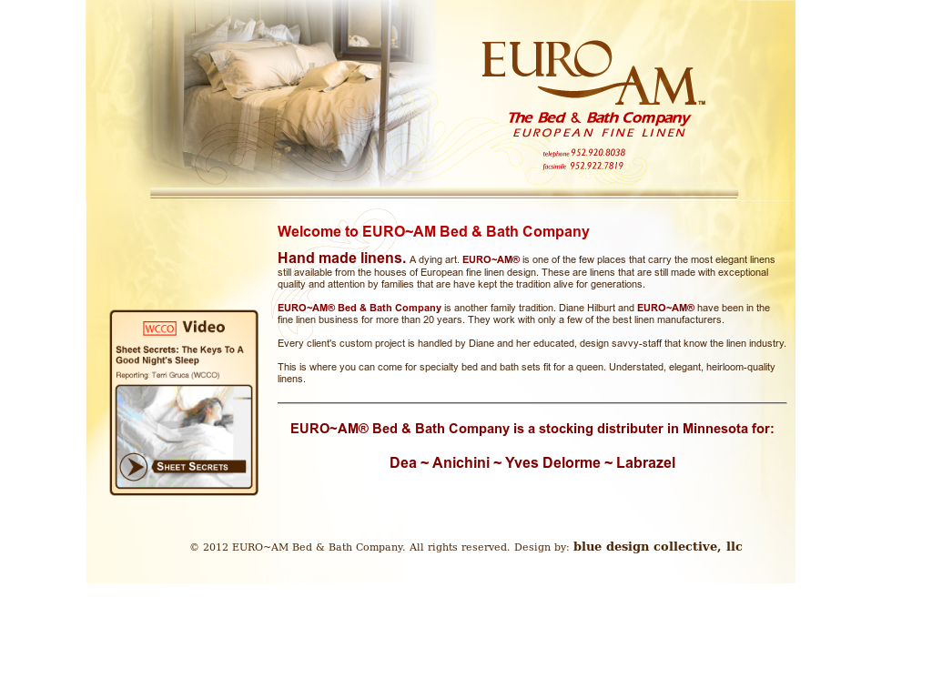 EURO~AM Bed & Bath Competitors, Revenue and Employees - Owler ...
