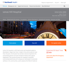 Lenox Hill Hospital Competitors, Revenue and Employees