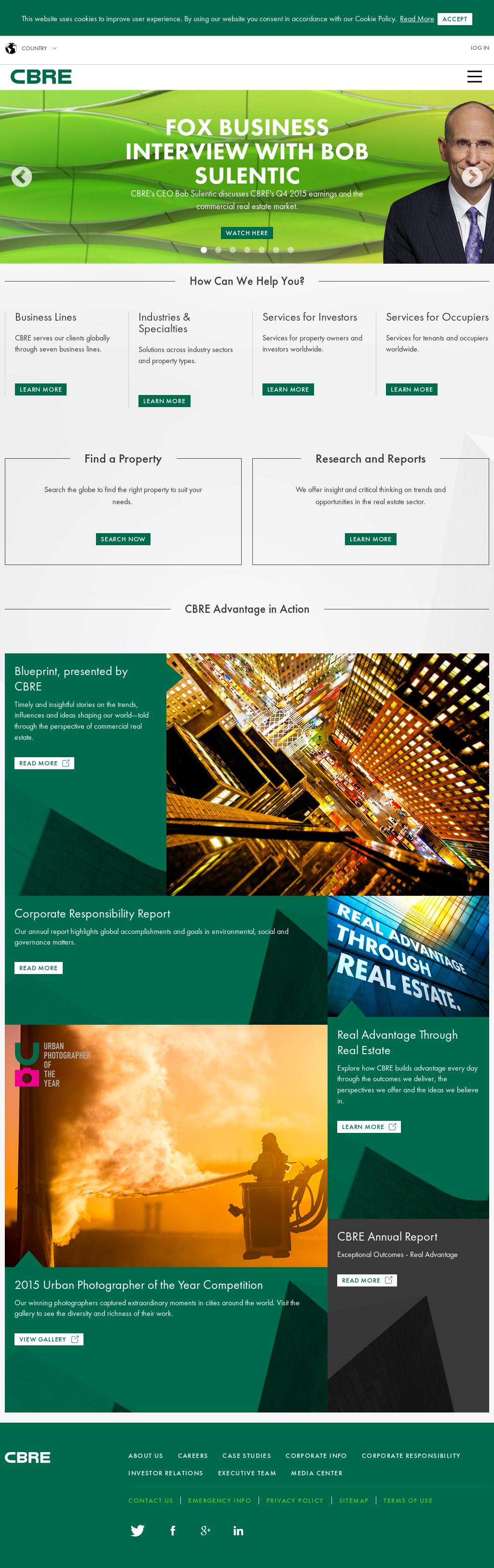 CBRE Competitors, Revenue and Employees - Owler Company Profile