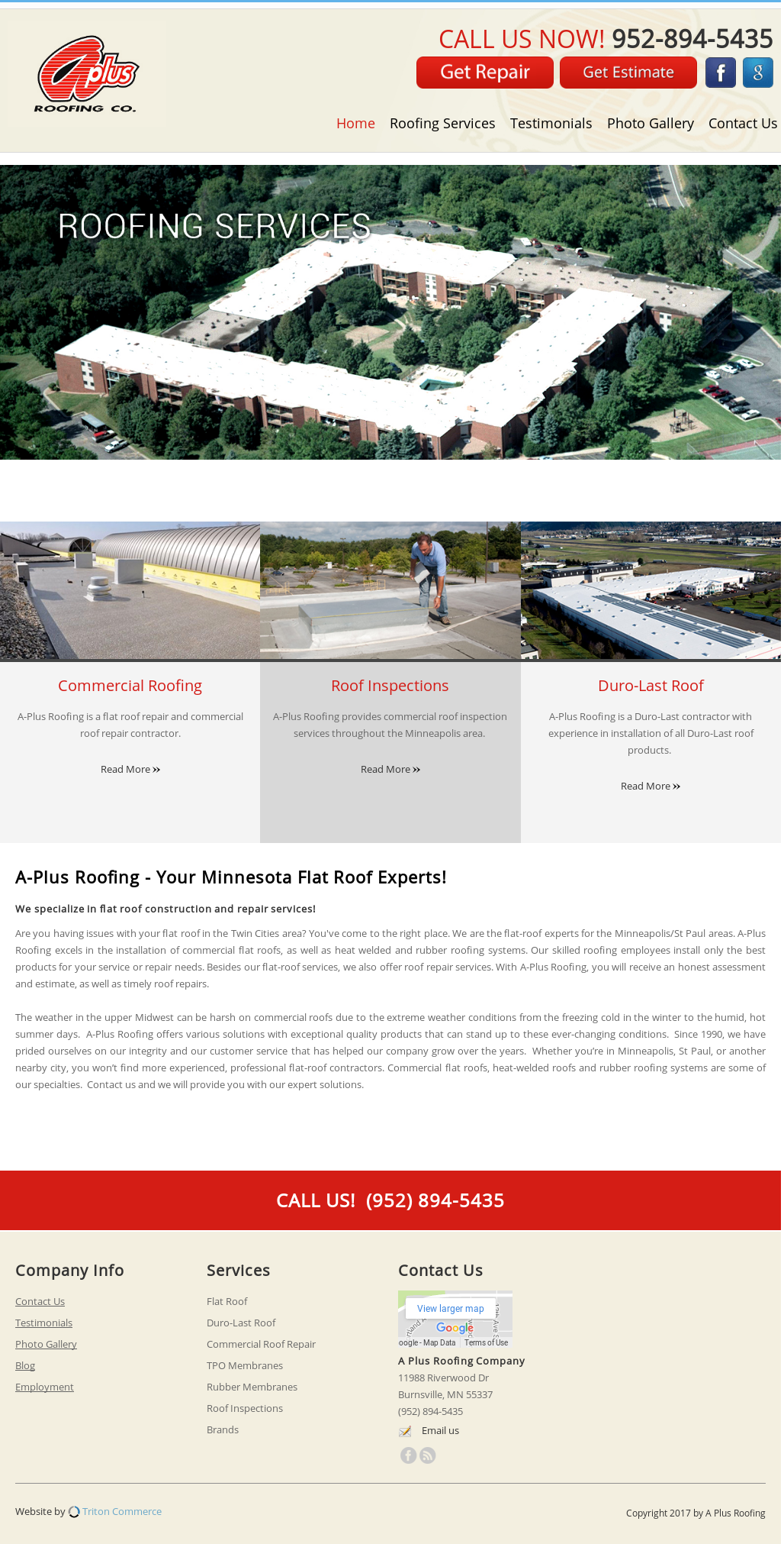A Plus Roofing Co Competitors Revenue And Employees