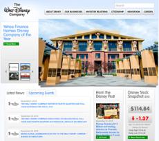 Disney website history