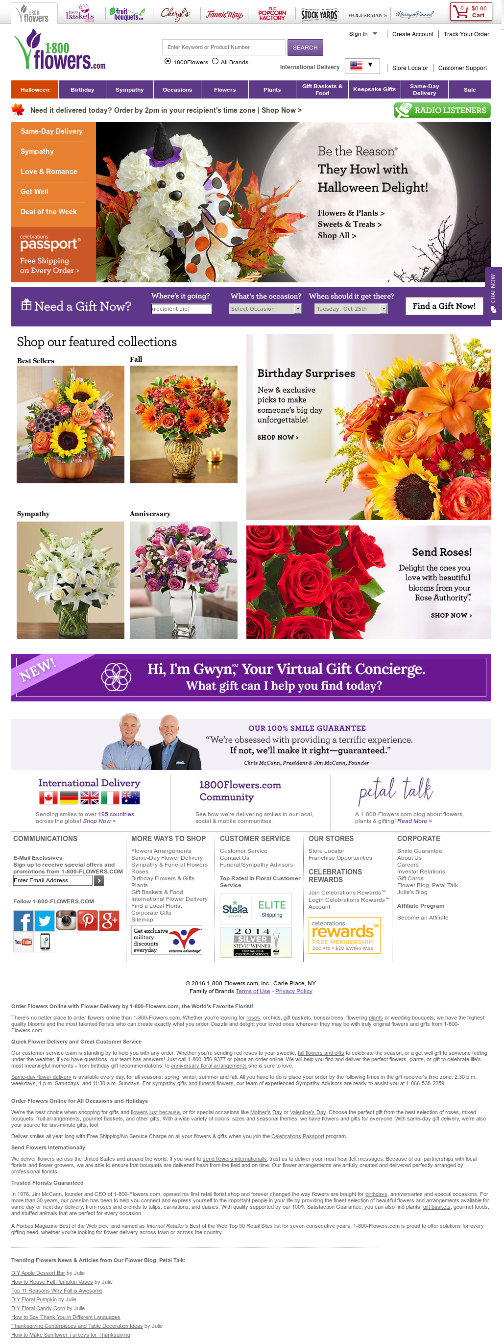 1-800- Flowers Competitors, Revenue and Employees - Owler Company Profile