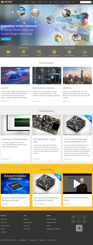 Lattice Semiconductor Competitors, Revenue and Employees